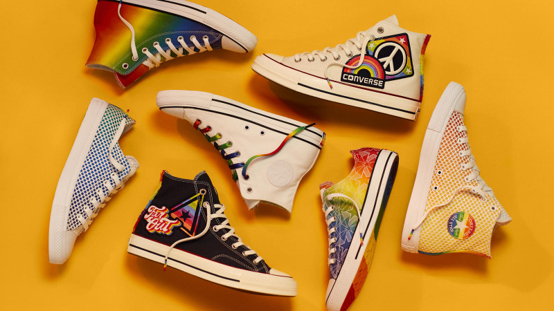 Converse drops 2019 Pride Collection