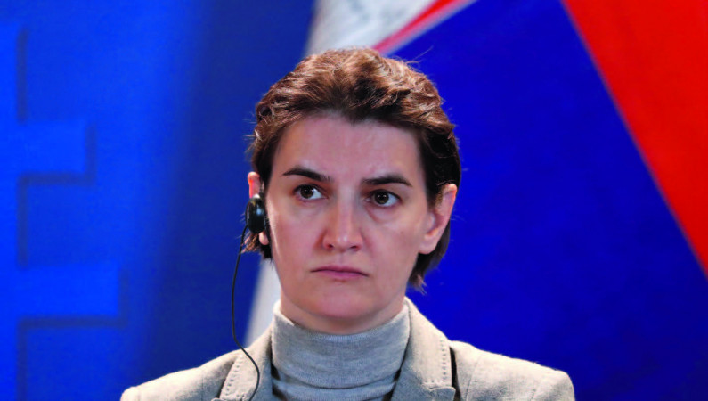 Serbian lesbian prime minister become a mother