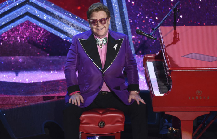 Elton John vows 'we will not leave anyone behind'