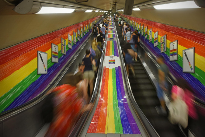 London tube bans 11 LGBTQ enemy countries