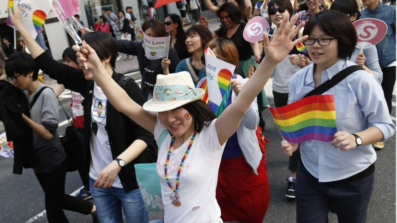 Japanese city of a million legally recognizes same-sex couples