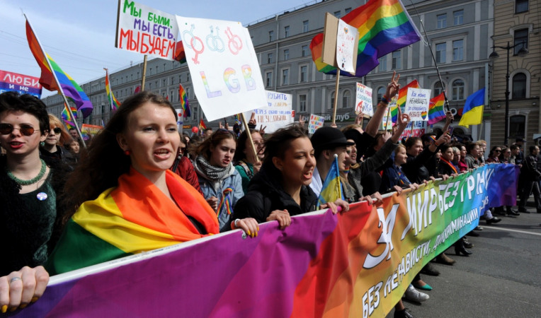 Russian police raid LGBTI center