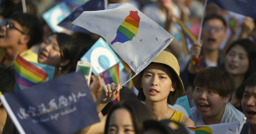 Taiwan may pass same-sex marriage bill