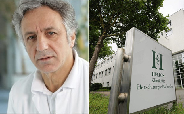 Turkish heart surgeon immediately dismissed from hospital.