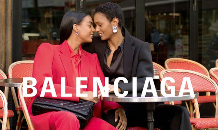 Balenciaga's same-sex couples