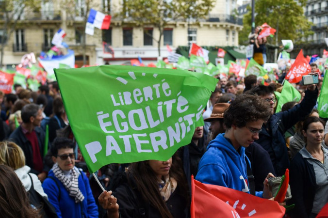 Mass protests in France against IVF