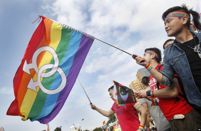 Love wins: Taiwan celebrates same-sex marriage